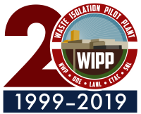 Waste Isolation Pilot Plant WIPP 20th Logo
