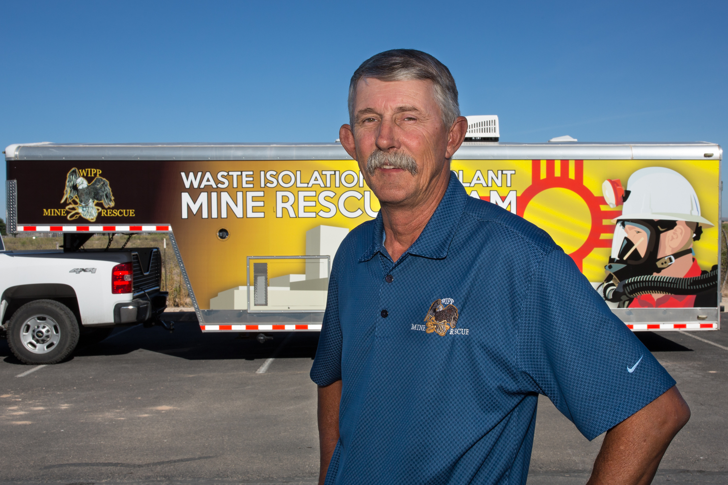 Richard West inducted into the Metal and Nonmetal National Mine Rescue Hall of Fame